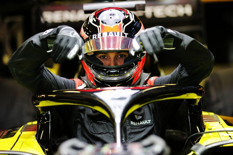 © Renault - Ocon ravi d'être de retour en piste