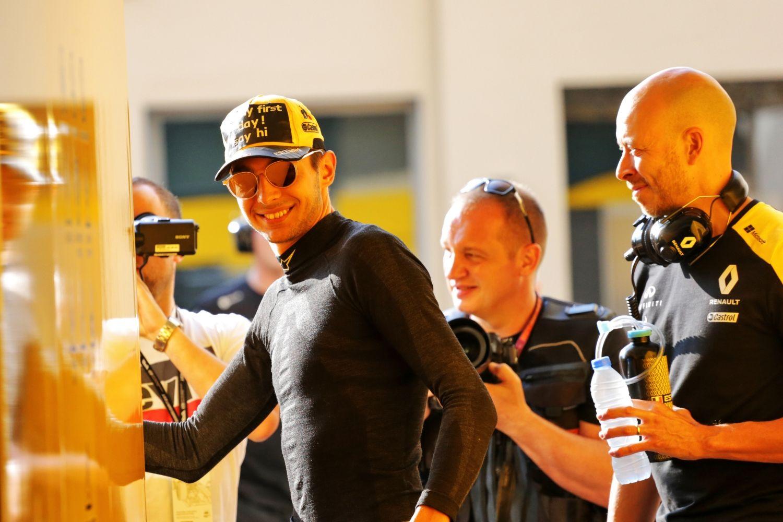 © Renault - Meilleur résultat d'Ocon avec Renault cette saison