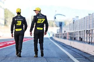 © Renault - Ricciardo et hulkenberg visent les gros points