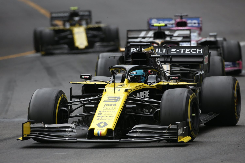 © Renault - Ricciardo lointain 9ème à Monaco