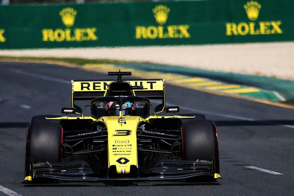 © Renault F1 Team - Aramco rejoint Rolex, Emirates, DHL, Heineken et Pirelli en tant que sponsor majeur
