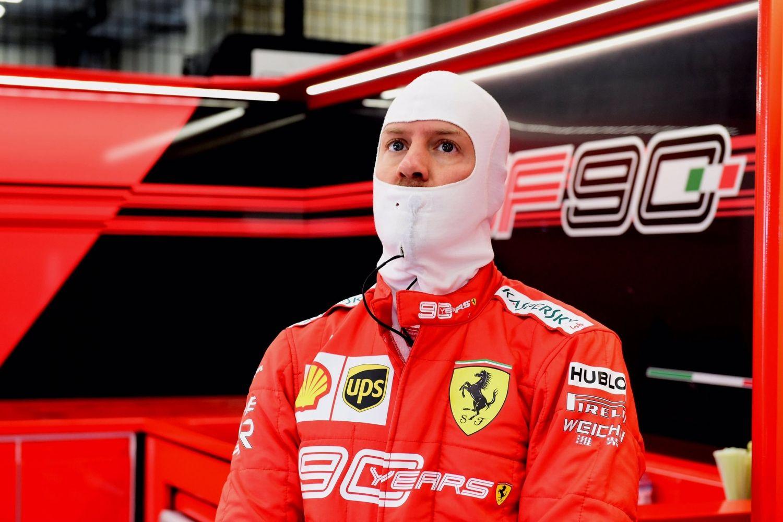 © Scuderia Ferrari - Rentrée heureuse pour le pilote allemand avec le meilleur temps