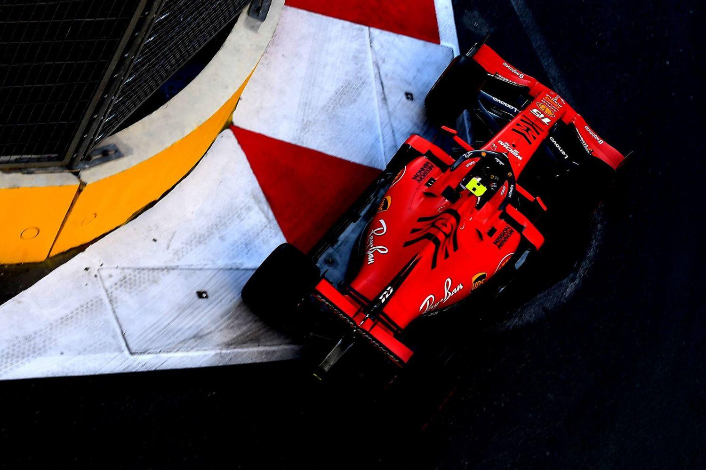 © Scuderia Ferrari - Charles Leclerc en tête avant la séance qualificative !