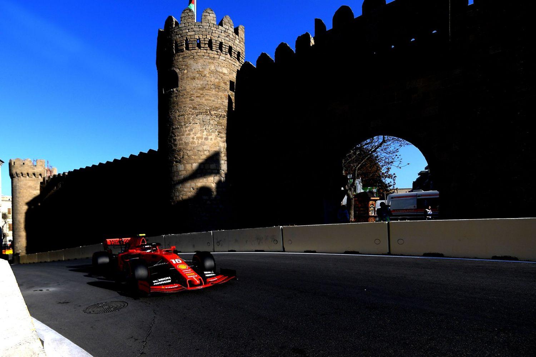 © Ferrari- Leclerc ne peut faire mieux que 5e à Bakou