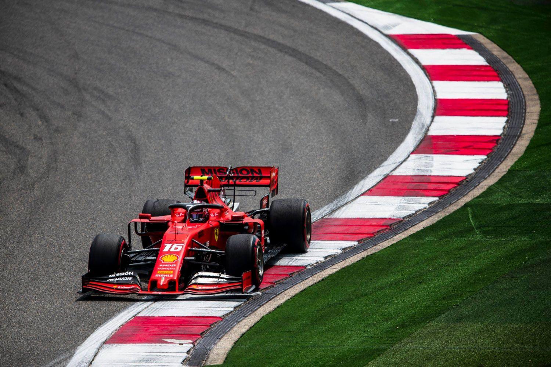 © Scuderia Ferrari - 5e à l'arrivée, Charles Leclerc a été victime de la stratégie de son équipe à Shanghai