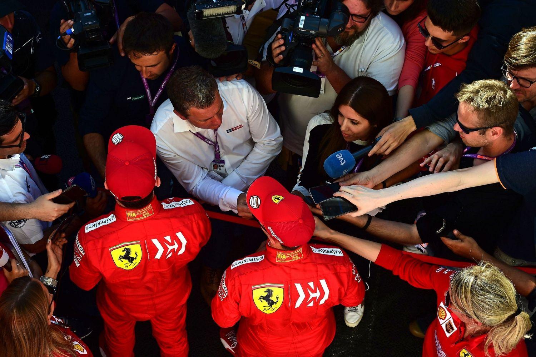 © Scuderia Ferrari – Vettel et Leclerc dans la tourmente, après un nouvel échec face à Mercedes