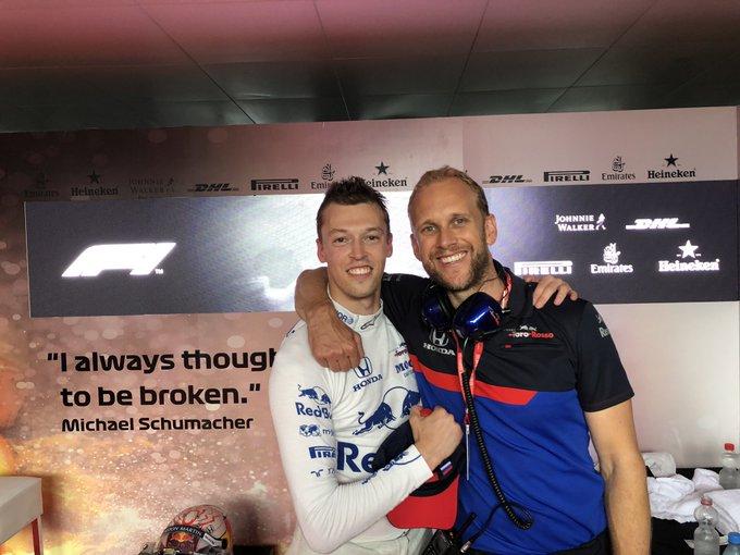 © Toro Rosso - Daniil Kvyat décroche un podium absolument inattendu à Hockenheim !