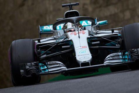 © Mercedes- Hamilton 2ème au terme des qualifications