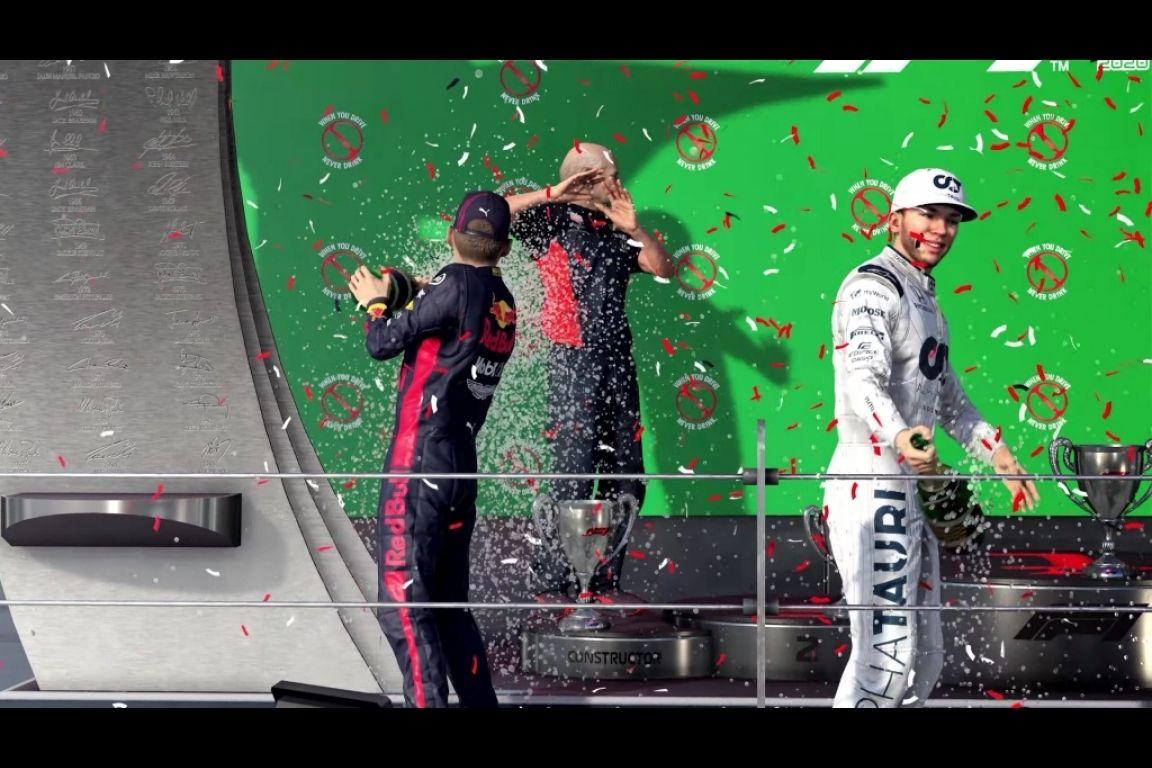 Nouvelles célébrations sur le podium !