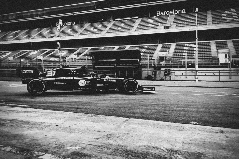 © Renault F1 Team - Esteban Ocon au volant de la Renault R.S.20