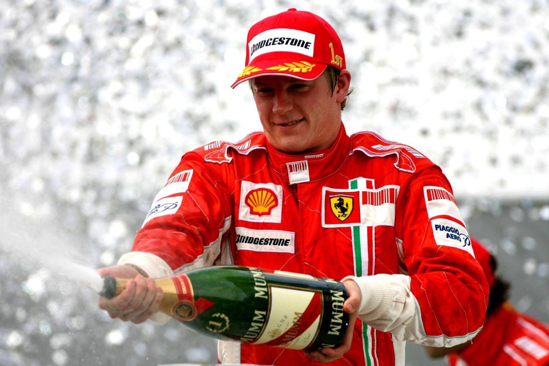 Kimi Räikkönen est toujours le dernier champion du monde des pilotes pour Ferrari !