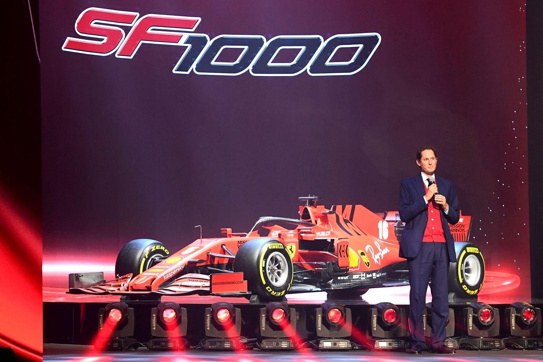 © Ferrari - John Elkann ne se fait d'illusion sur la SF1000