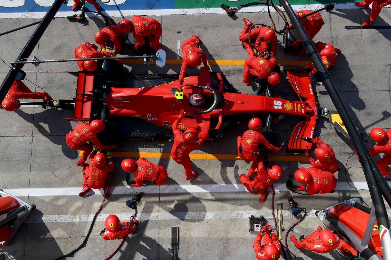 © Ferrari - Un week-end à oublier