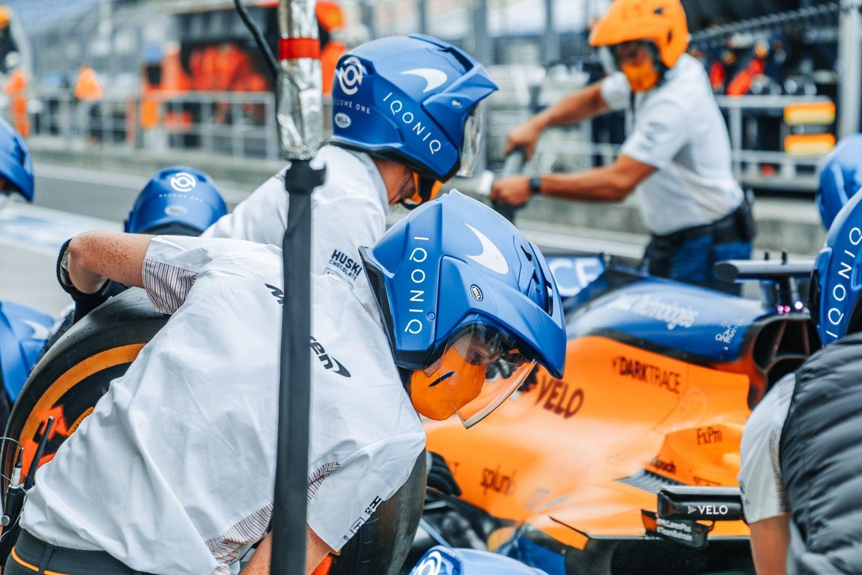 © McLaren - Iqoniq s'offre une belle visibilité pour son lancement