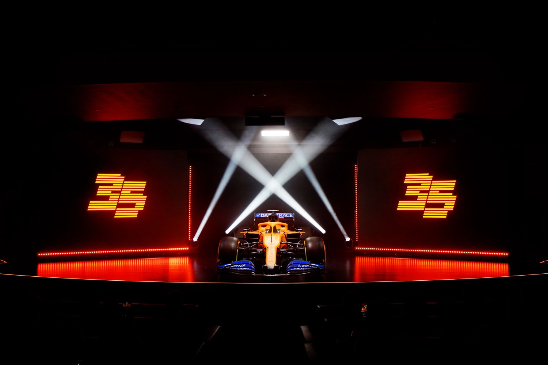 © McLaren - La nouvelle monoplace portera le nom de MCL35M