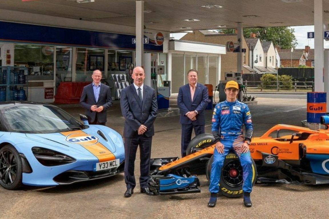 © McLaren - Un partenariat qui ravira les nostalgiques de la F1