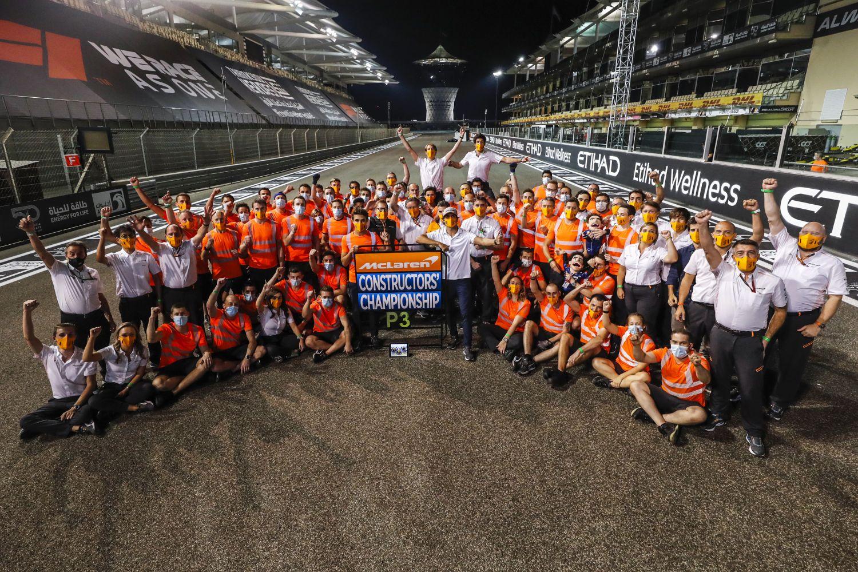 © McLaren - L'écurie termine 3ème, devant Racing Point et Renault