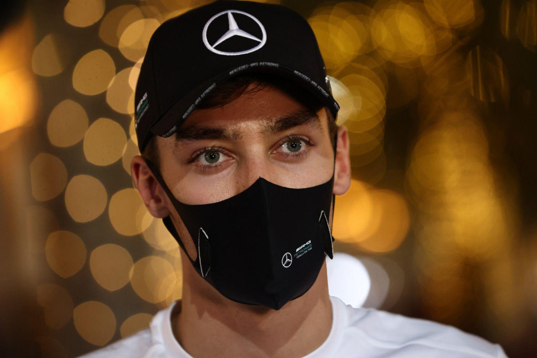 © Mercedes - Russell au GP de Sakhir