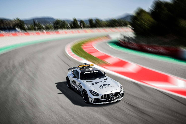 © Mercedes - Aston Martin partagera la fonction de safety car avec Mercedes