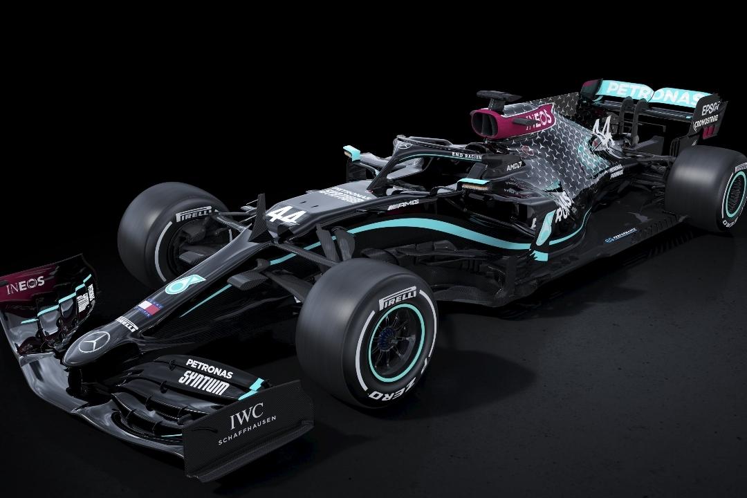 © Mercedes - La W11 sera noire en 2020