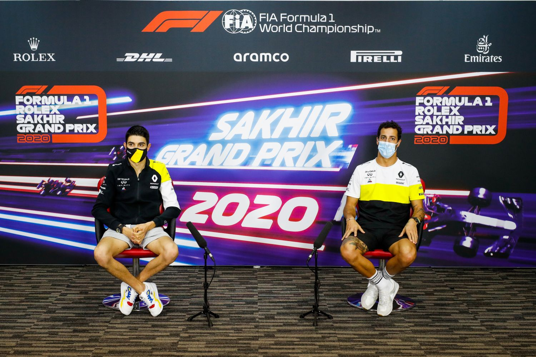 © Renault - Daniel Ricciardo et Esteban Ocon veulent briller dans la nuit de Sakhir
