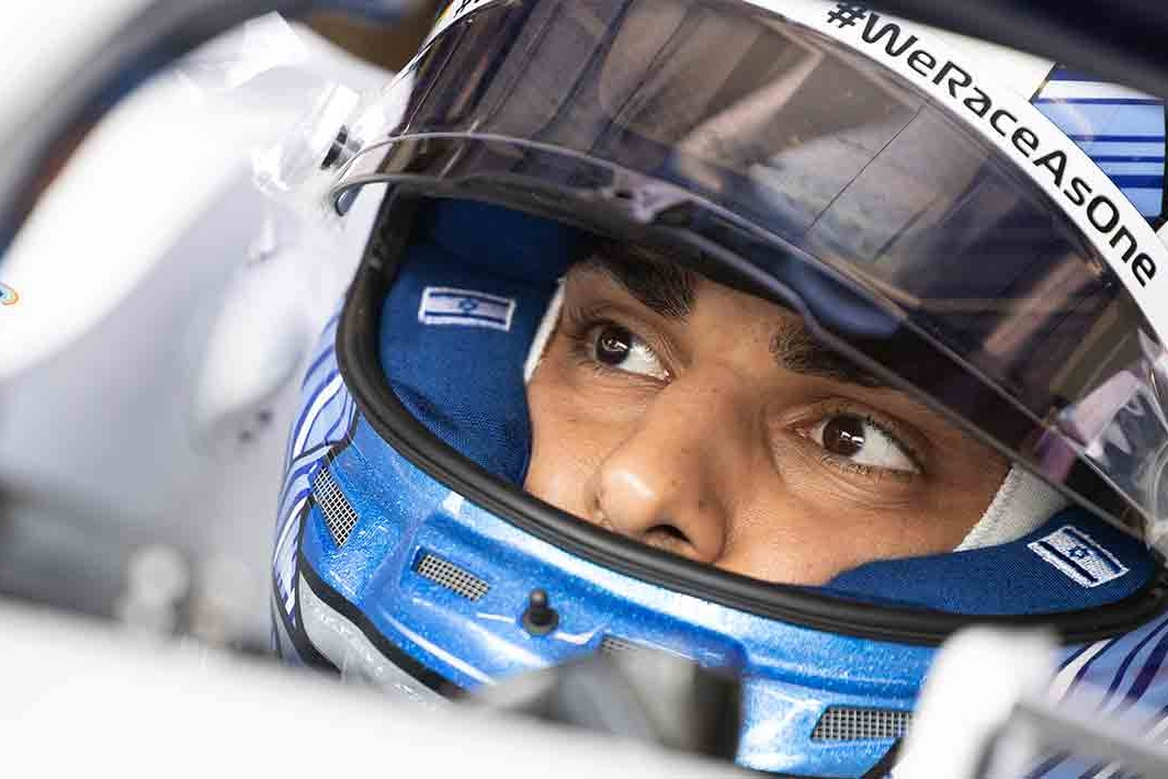 © Williams - Nissany aux commandes de la FW43 à Monza