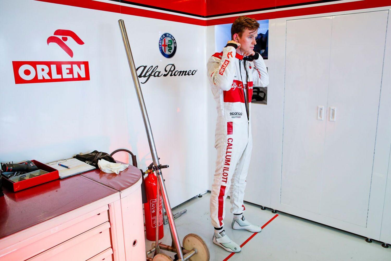 Callum Ilott espère trouver un volant en F1 pour la saison 2022.