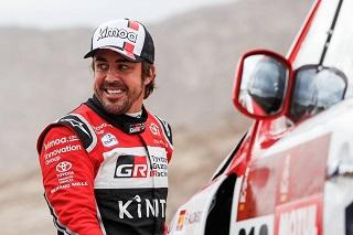 © DR - Alonso a réussi son premier Dakar