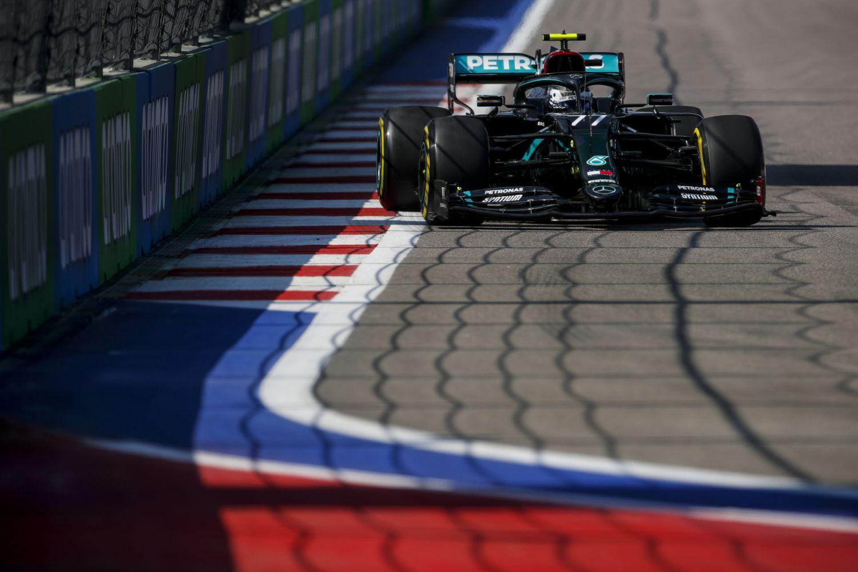 © Mercedes - Valtteri Bottas, vainqueur en Russie !