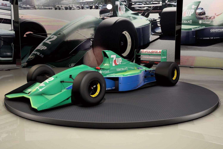 © Codemaster - Copie d'écran du jeu F1 2020 et de ses véhicules rétro