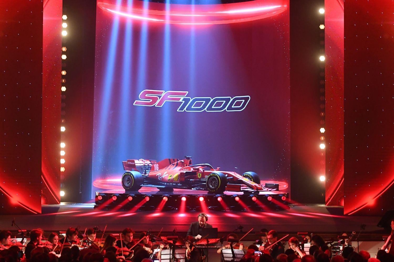 © Ferrari - La Ferrari est bien rouge !
