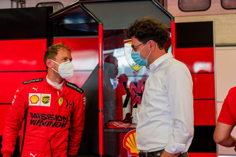 """Grand Prix du Portugal : Binotto-Vettel """"Nous attendons plus du second pilote"""""""