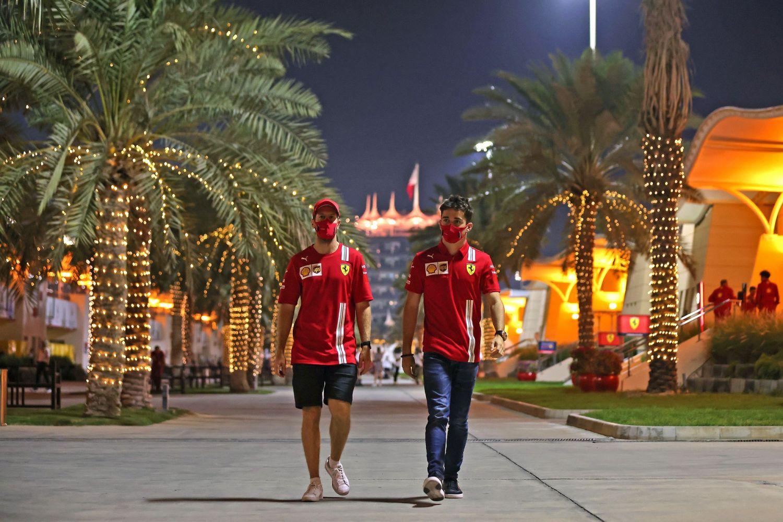 © Ferrari - La collaboration se termine pour Sebastian Vettel et Charles Leclerc