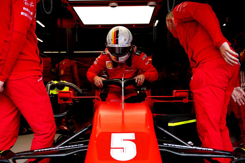 © Sebastian Vettel dispute son dernier GP pour Ferrari à Abu Dhabi