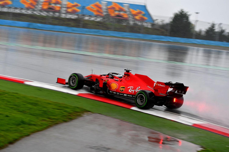 © Ferrari - Leclerc offre le podium à Vettel