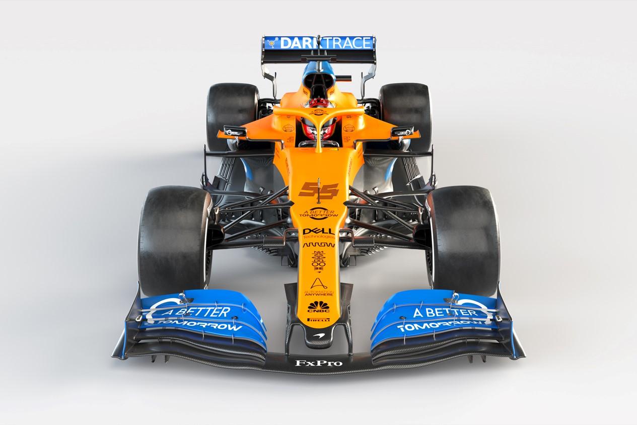 © McLaren présente sa livrée 2020