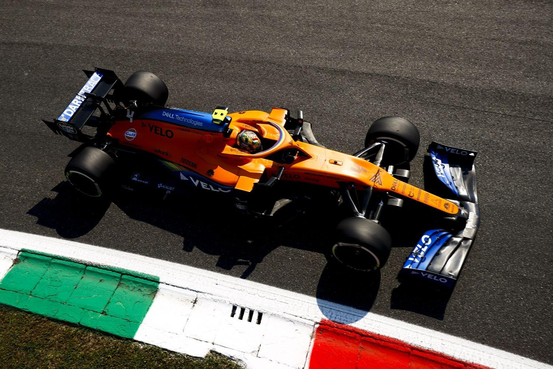 © McLaren- Norris pénalisé de 5 places pour non respect des drapeaux jaunes