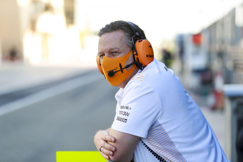 © McLaren - Zak Brown mise sur un duo Russell-Verstappen pour l'avenir de Mercedes