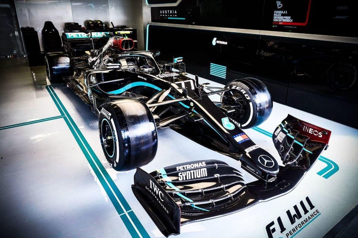 © Mercedes - Passe de deux pour Bottas?