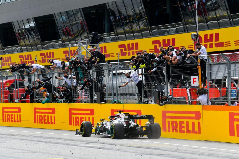 Grand Prix de Toscane : Hamilton et l'impression de « faire trois courses en une journée ! »