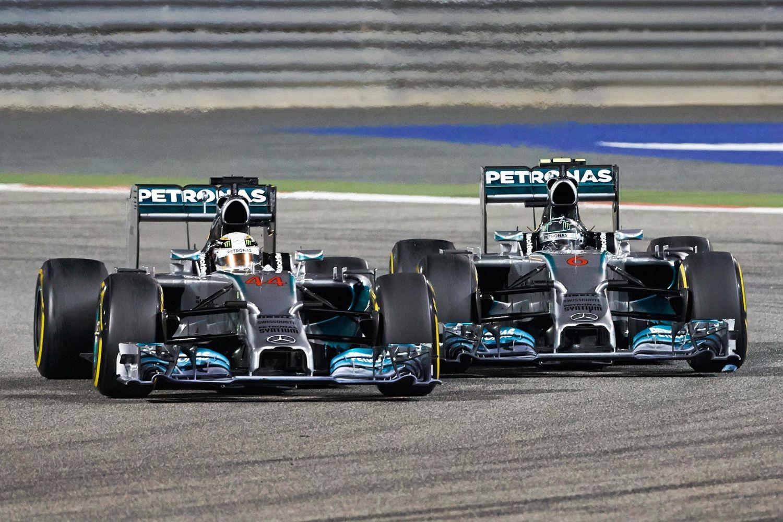 © Mercedes - Le duel Hamilton / Rosberg en 2014, l'un des 7 faits marquants du Grand Prix de Bahreïn