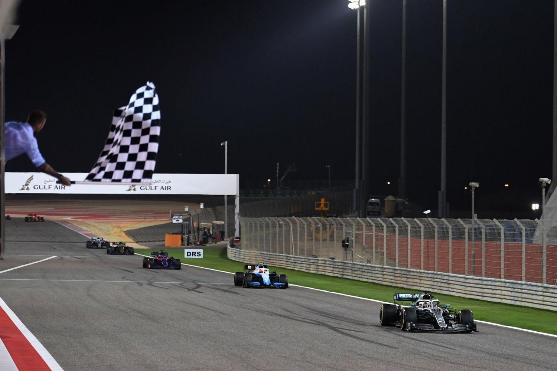 © Mercedes - Hamilton dernier vainqueur en date du Grand Prix de Bahreïn