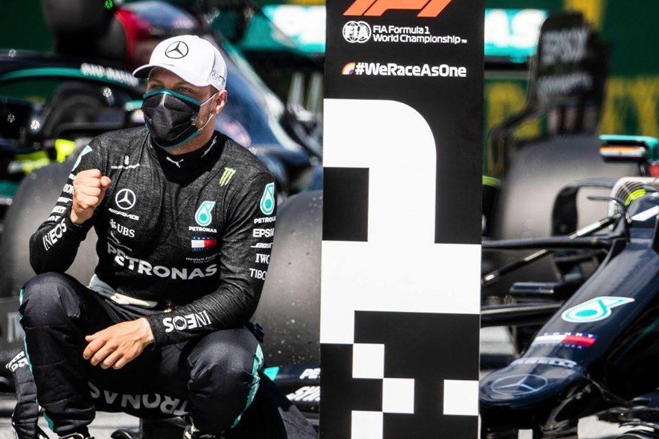 © Mercedes - Valtteri Bottas, premier vainqueur 2020 !