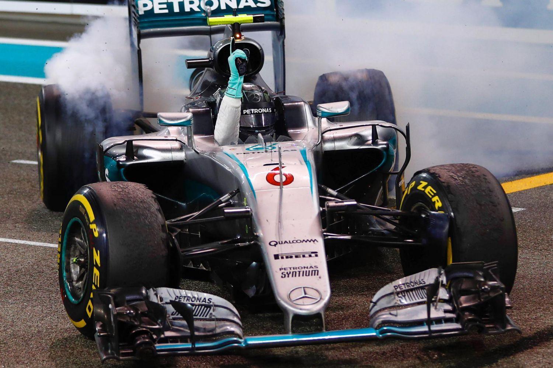 © Mercedes - Le titre de Nico Rosberg en 2016, l'un des 7 faits marquants du Grand Prix d'Abu Dhabi