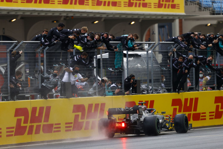 La Victoire de Lewis Hamilton en 2020