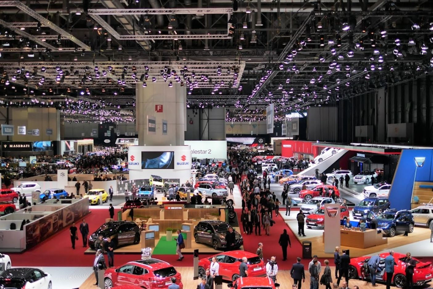 Le Salon de l'Automobile l'an dernier en 2019