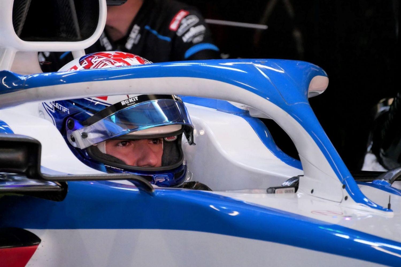 © Motors Inside - Nicholas Latifi pour ses premiers roulages avec Williams