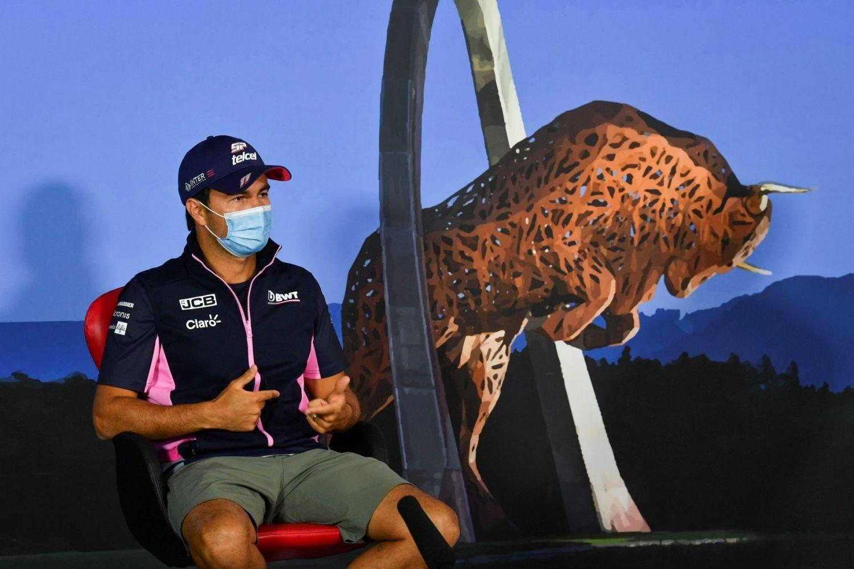 © Racing Point - Les mesures de protection ne semblent pas avoir suffi pour Sergio Perez