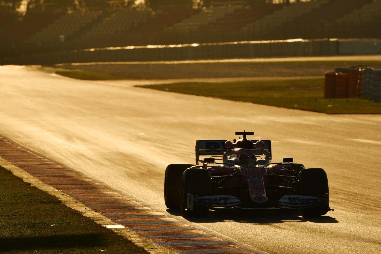 © Racing Point - Une belle lumière aujourd'hui pour rouler longtemps