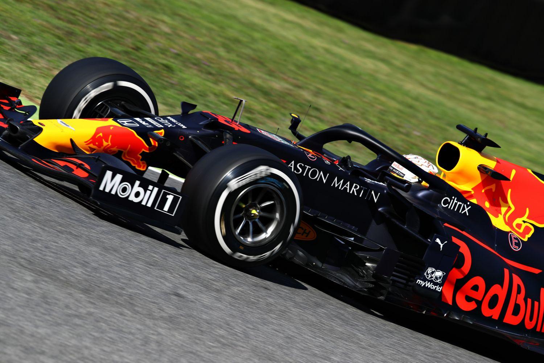 © Red Bull - Max Verstappen dans sa Red Bull